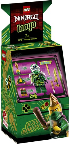LEGO NINJAGO® 71716 Lloyd avatar - Arcade Pod