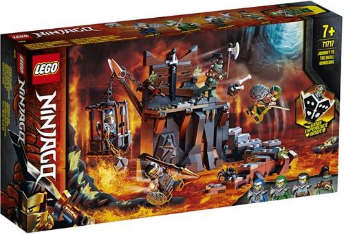 LEGO NINJAGO® 71717 Reis naar de kerkers van Skull