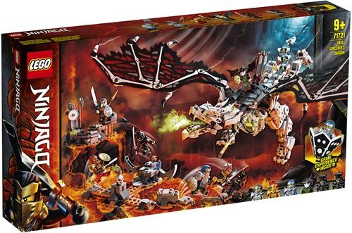 LEGO NINJAGO® Skull Sorcerer's Draak - 71721