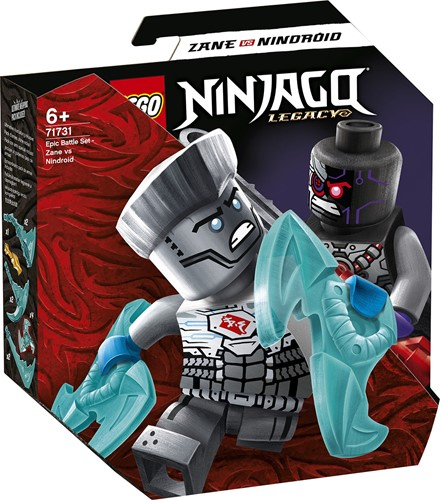 LEGO NINJAGO® Epische Strijd set - Zane tegen Nindroid - 71731
