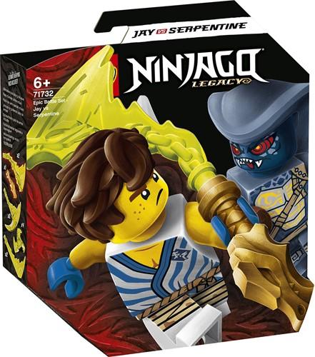 LEGO NINJAGO® Epische Strijd set - Jay tegen Serpentine - 71732