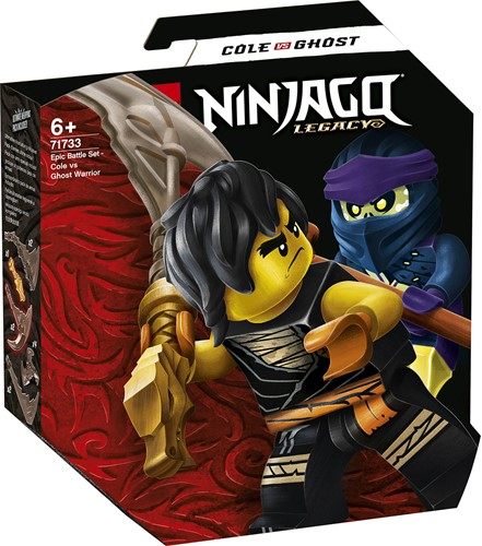 LEGO NINJAGO® Epische Strijd set - Cole tegen Spookstrijder - 71733