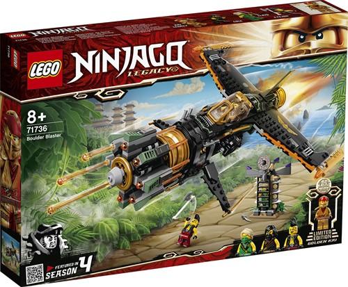 LEGO NINJAGO® Rotsblok Blaster - 71736