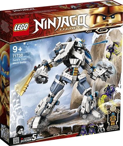 LEGO NINJAGO® Zane's Titanium Mecha Duel - 71738