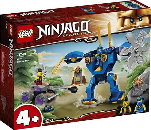 LEGO NINJAGO® Jay's Electro Mecha - 71740