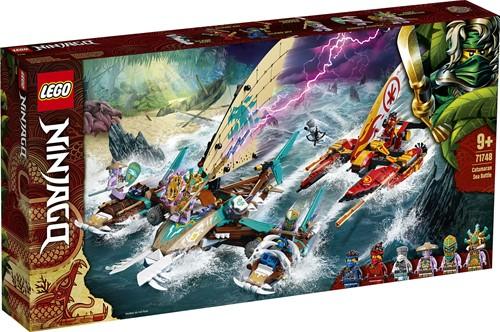 LEGO NINJAGO® Catamaran zeeslag - 71748