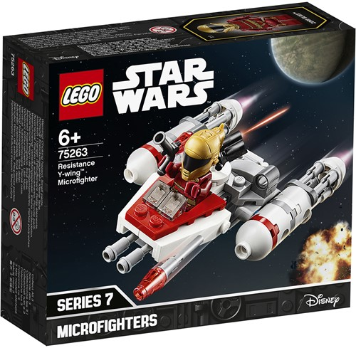 LEGO Star Wars™ 75263 Resistance Y-wing™ Microfighter