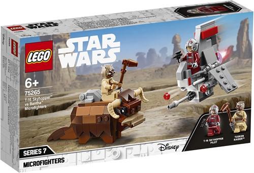 LEGO Star Wars™ 75265 T-16 Skyhopper™ vs. Bantha™ Microfighters