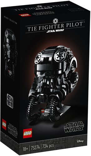 LEGO Star Wars™ TIE Fighter Pilot™ helm - 75274