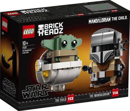 LEGO Star Wars™ 75317 De Mandalorian™ en het Kind