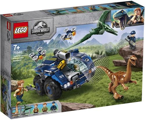 LEGO Jurassic World™ 75940 Ontsnapping van Gallimimus en Pteranodon