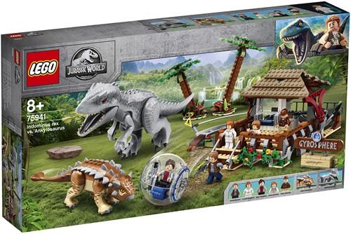 LEGO Jurassic World™ Indominus Rex vs. Ankylosaurus - 75941