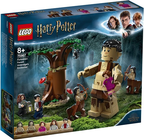 LEGO Harry Potter™ 75967 Het Verboden Bos: Omber's ontmoeting met Groemp