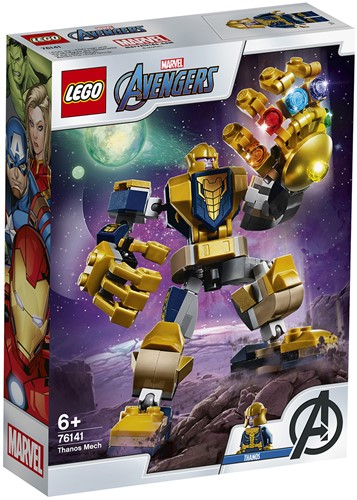 LEGO Marvel Avengers Thanos Mecha – 76141