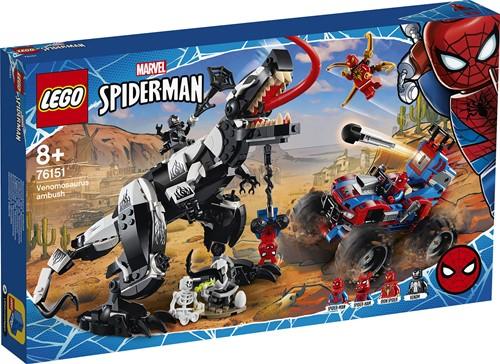 LEGO Marvel Super Heroes 76151 Venomosaurus hinderlaag