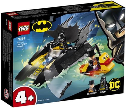 LEGO DC Super Heroes Batboot de Penguin achtervolging - 76158