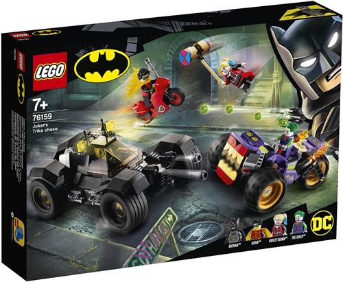 LEGO DC Super Heroes 76159 Joker's trike achtervolging