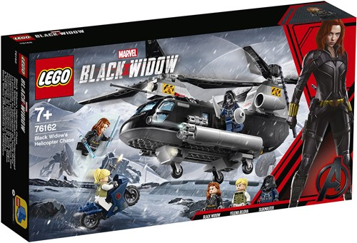 LEGO Marvel Super Heroes Black Widow's helikopterachtervolging – 76162