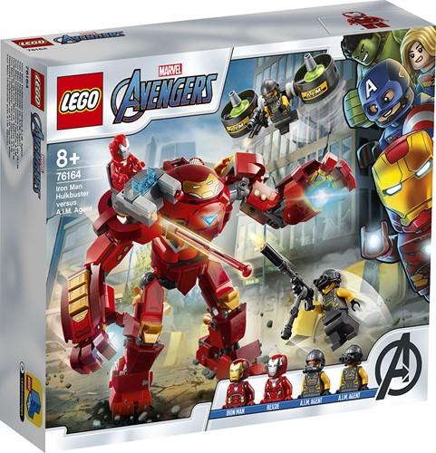 LEGO Marvel Super Heroes Iron Man Hulkbuster versus A.I.M. Agent - 76164