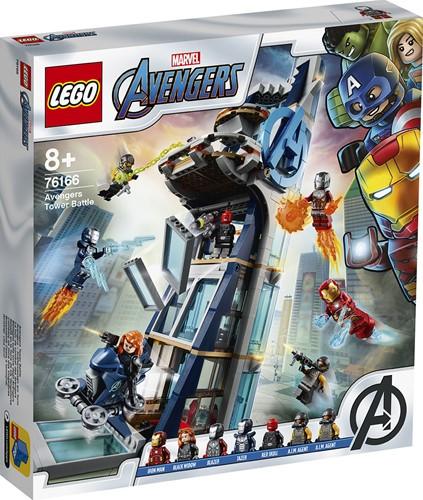 LEGO Marvel Super Heroes 76166 Avengers torengevecht