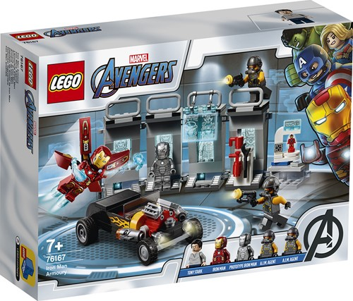 LEGO Marvel Super Heroes 76167 Iron Man Wapenkamer