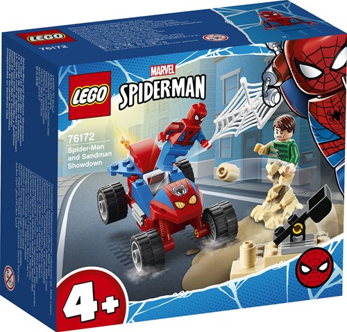 LEGO Marvel Spider-Man: Spider-Man en Sandman duel - 76172