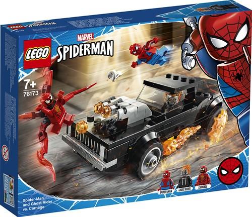LEGO Marvel Spider-Man: Spider-Man en Ghostrider vs. Carnage - 76173