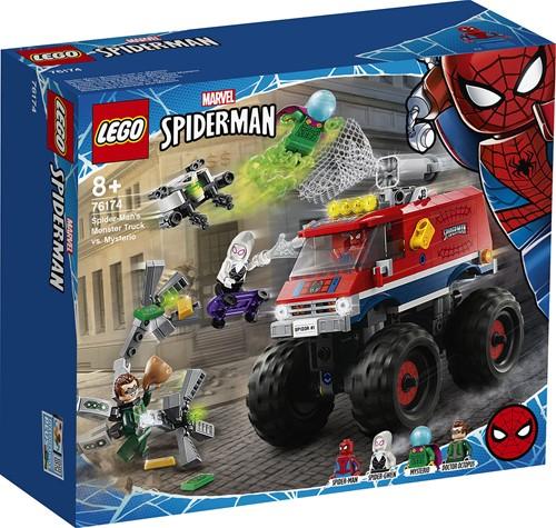 LEGO Marvel Spider-Man: Spider-Man's monstertruck vs. Mysterio - 76174