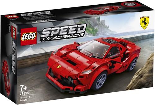 LEGO Speed Champions Ferrari F8 Tributo - 76895
