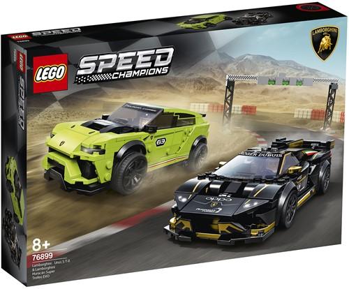 LEGO Speed Champions Lamborghini Urus ST-X & Lamborghini Huracán Super Trofeo EVO - 76899