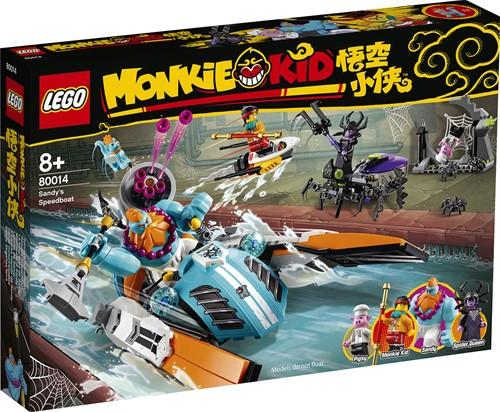 LEGO Monkie Kid™ Sandy's speedboot - 80014