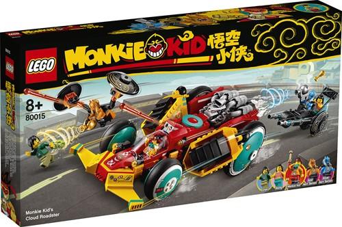 LEGO Monkie Kid™ Monkie Kid 's wolkenwagen - 80015