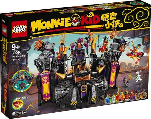LEGO Monkie Kid™ De brandende gieterij - 80016