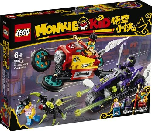LEGO Monkie Kid™: Monkie Kid's wolkenmotor - 80018
