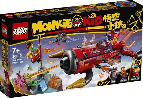 LEGO Monkie Kid™ Red Son's helvliegtuig - 80019