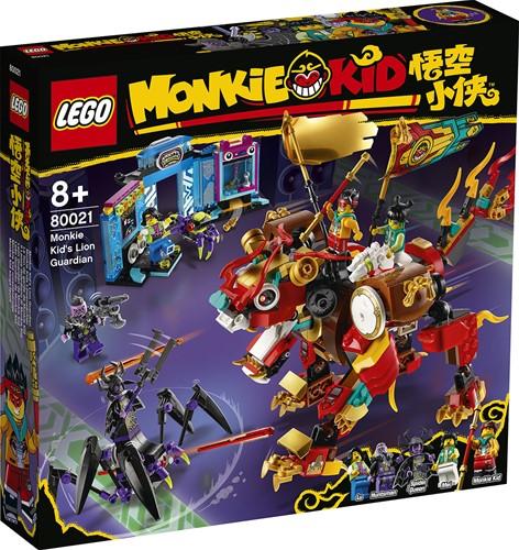 LEGO Monkie Kid™: Monkie Kid's leeuwenbewaker - 80021