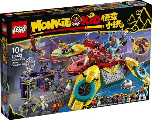 LEGO Monkie Kid™: Monkie Kid's team dronecopter - 80023