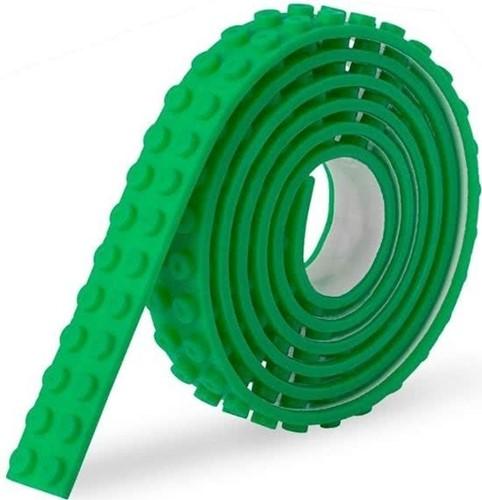 Sinji Play Stick & Brick - Flexibele tape - Groen 100cm