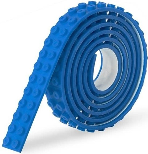 Sinji Play Stick & Brick - Flexibele tape - Blauw 100cm